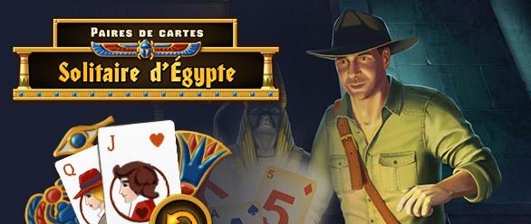 Solitaire d'Egypte - Paires de Cartes