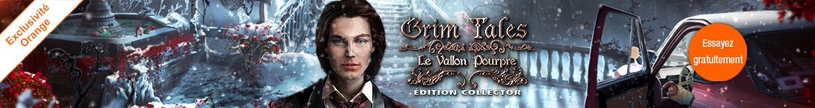 Grim Tales: Le Vallon Pourpre Edition Collector