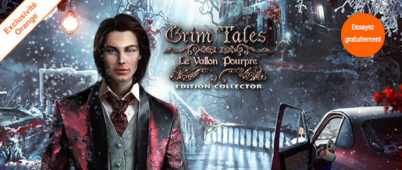 Grim Tales: Le Vallon Pourpre Edition Collector