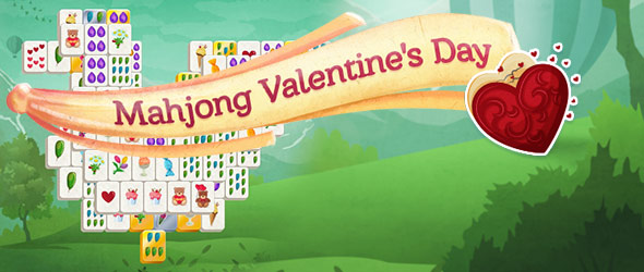 Mahjong Valentines Day