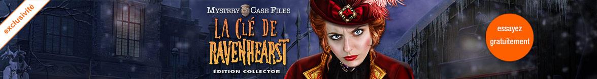 Mystery Case Files: La Clé de Ravenhearst Edition Collector