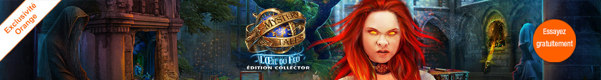 Mystery Tales: L'Oeil du Feu Édition Collector