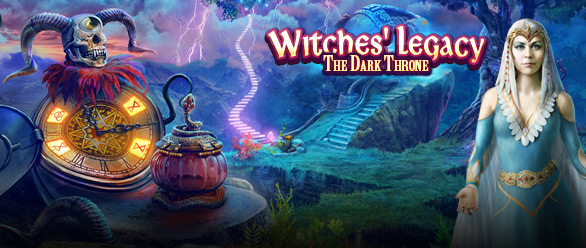 Witches' Legacy: Le Trône Obscur