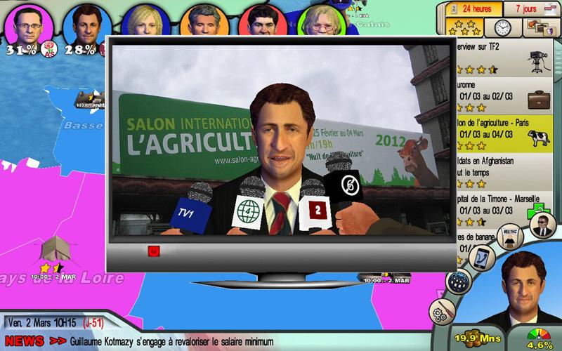 ELECTIONS 2012 - En route pour l'Elysée (Mac)
