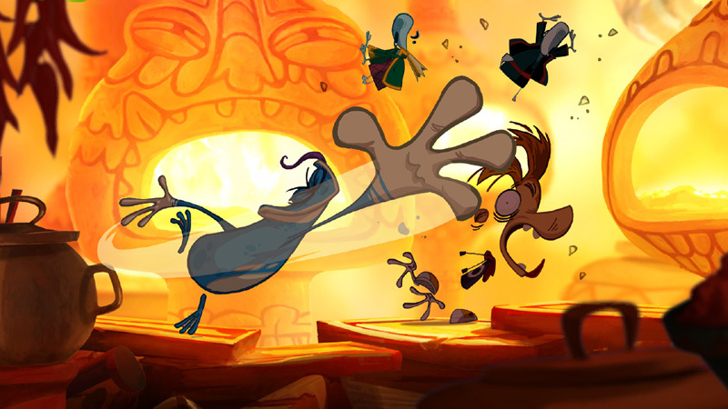 Rayman Origins - Screenshot 1