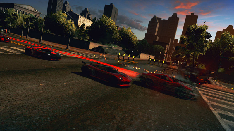 Ridge Racer Unbounded - Screenshot 1