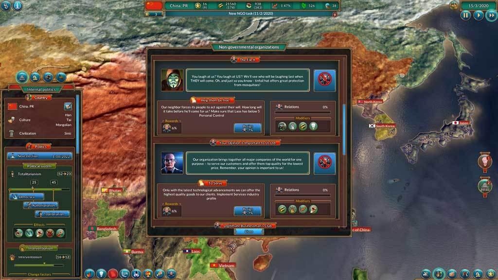 Realpolitiks - New Power (DLC)