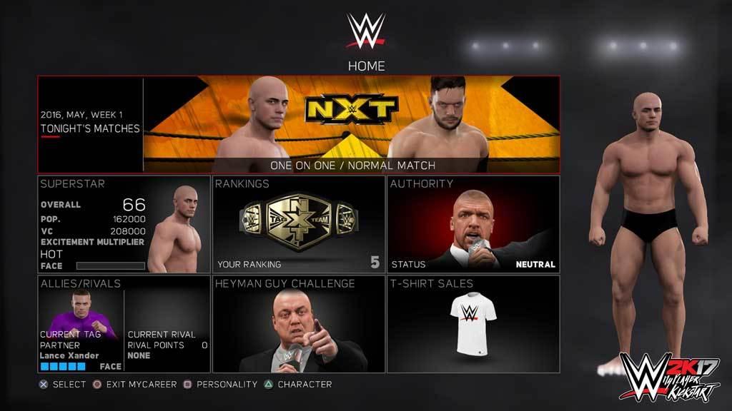 WWE 2K17 - MyPlayer Kickstart (DLC)