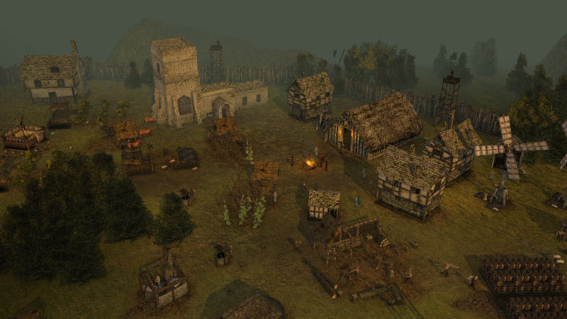 Stronghold 3 - Gold - Screenshot 1