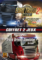 Pack Euro Truck Simulator 2 + Scania Truck Driving Simulator
