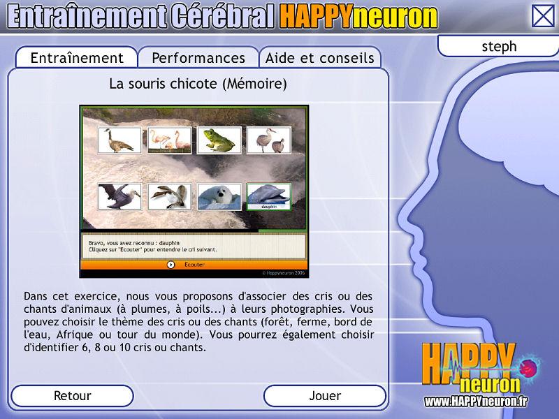 Entraînement Cérébral HAPPYneuron – Stimulez votre mémoire