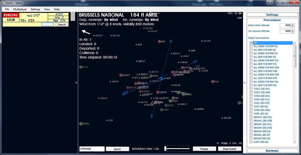 Global ATC Simulator