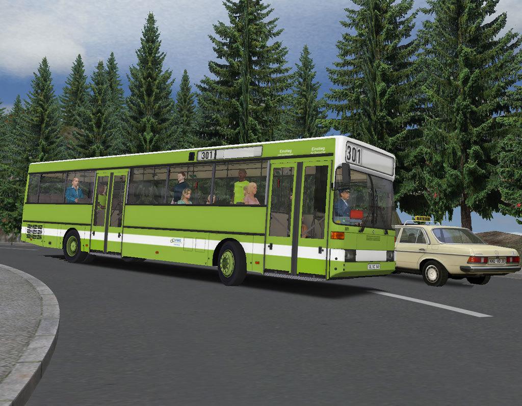OMSI 2 Add-On Citybus O405/O405G
