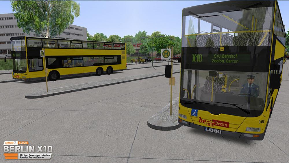 OMSI 2 Add-on Berlin X10 (DLC)