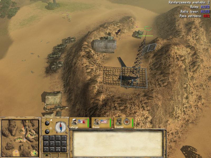 Desert Rats vs Afrika Korps
