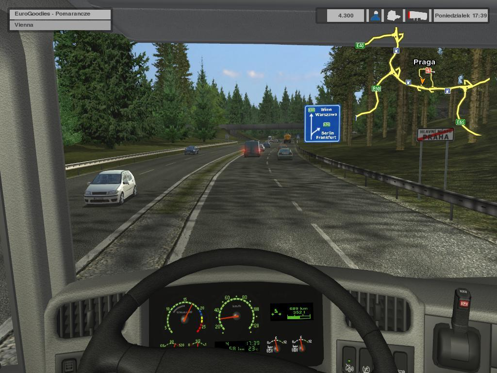 Euro Truck Simulator - Screenshot 1