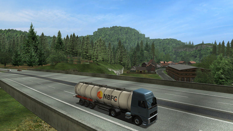 German Truck Simulator - Screenshot 1
