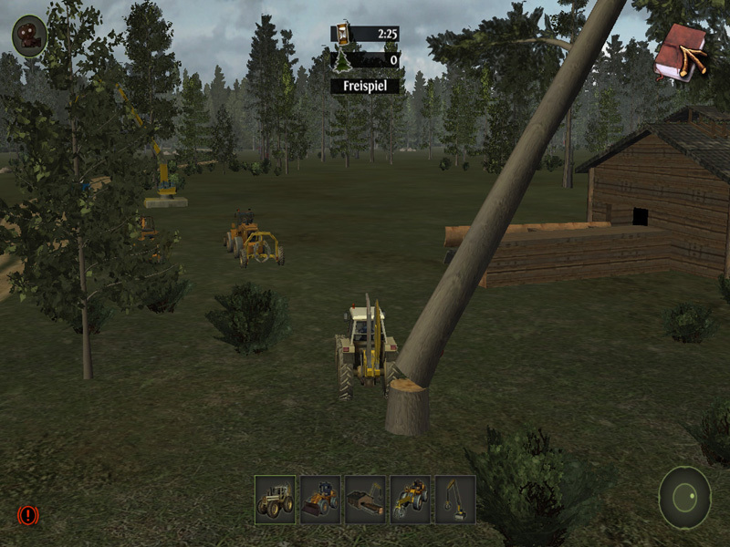 Filière bois - Simulator