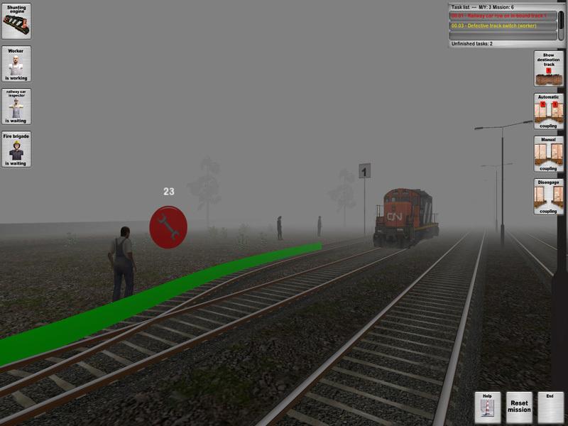 Transport Ferroviaire - Simulator