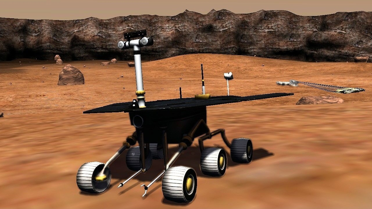 mars landing simulation - photo #26