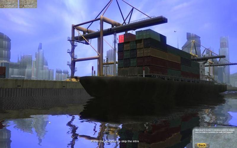 Zones Portuaires Simulator