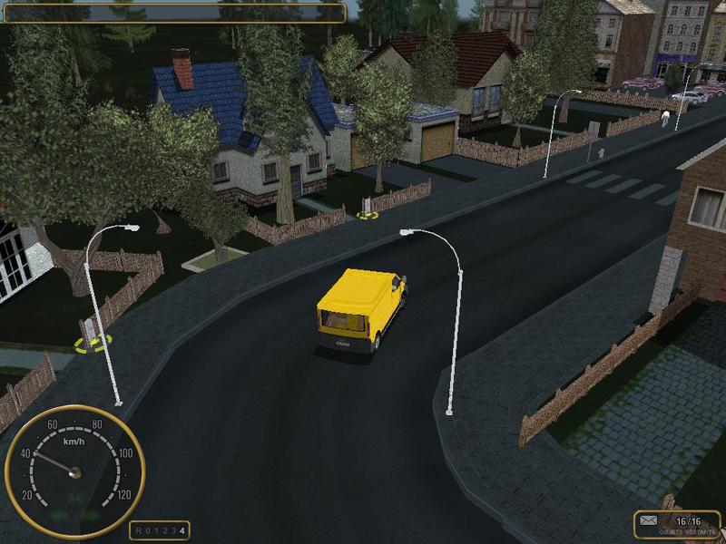 Courrier Postal Simulator