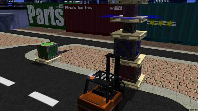 Chariot Elévateur Simulator
