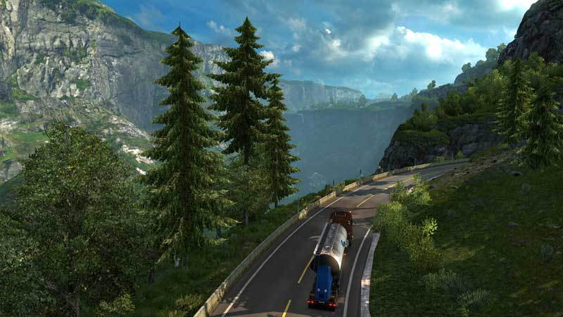 Euro Truck Simulator 2 Scandinavia (Extension)