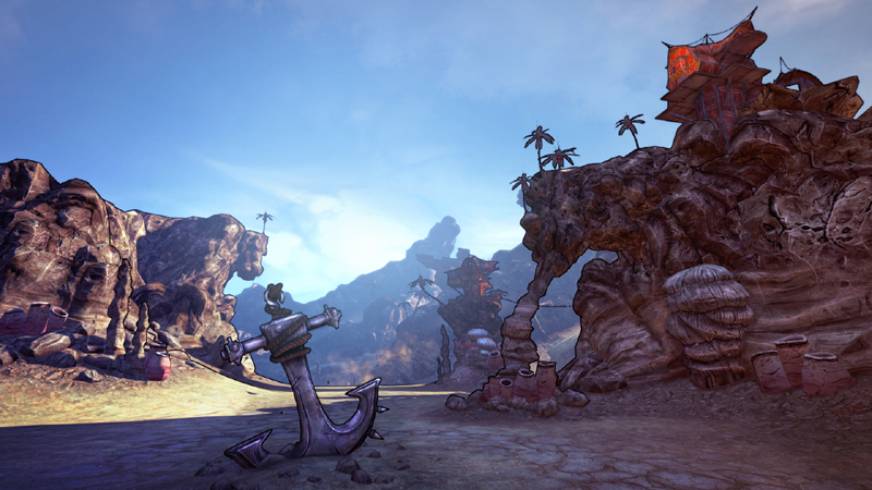 Borderlands 2 : Le Capitaine Scarlett et son Butin de Pirate - DLC (Mac)