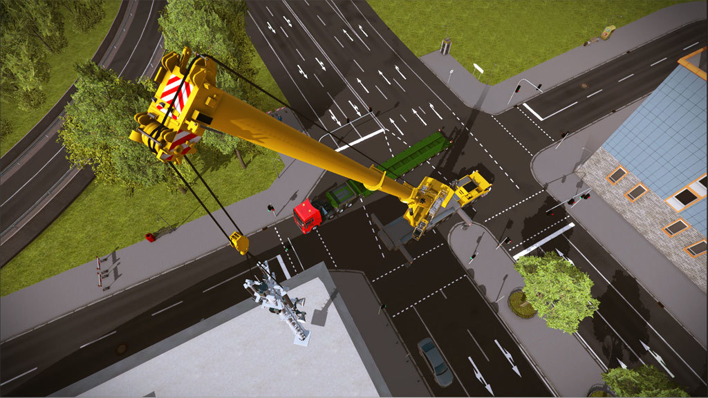 Construction Simulator 2015 Liebherr® LTM 1300 6.2 (DLC6)