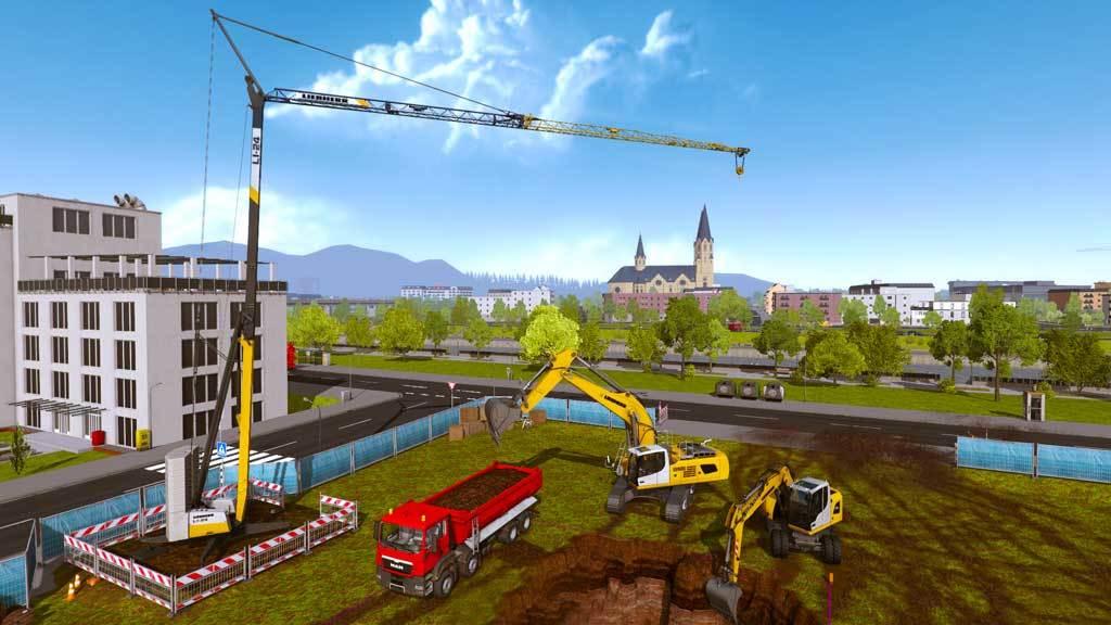 Construction Simulator 2015: Liebherr A 918 (DLC8)