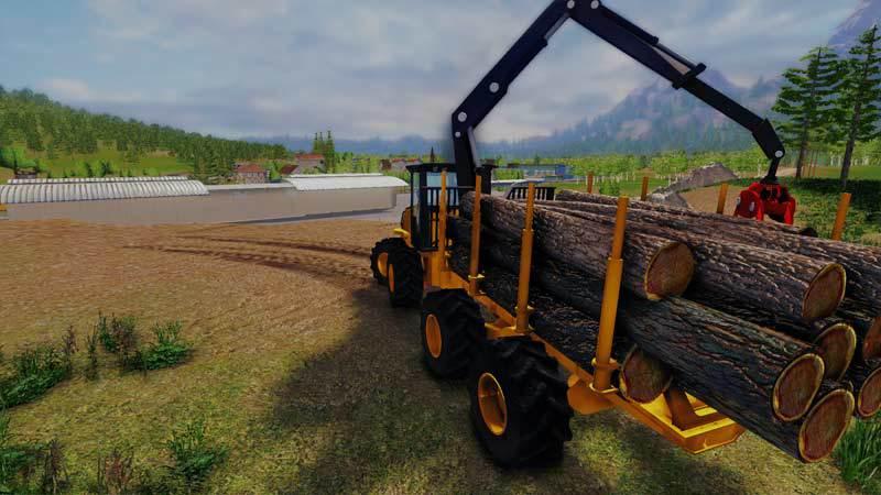 Professional Lumberjack Simulator 2015