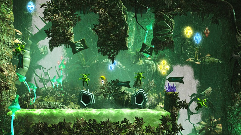 Giana Sisters: Twisted Dreams - Screenshot 1