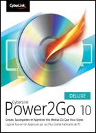 Power2Go 9 Deluxe : Présentation télécharger.com