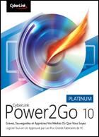 Power2Go 9 Platinum : Présentation télécharger.com