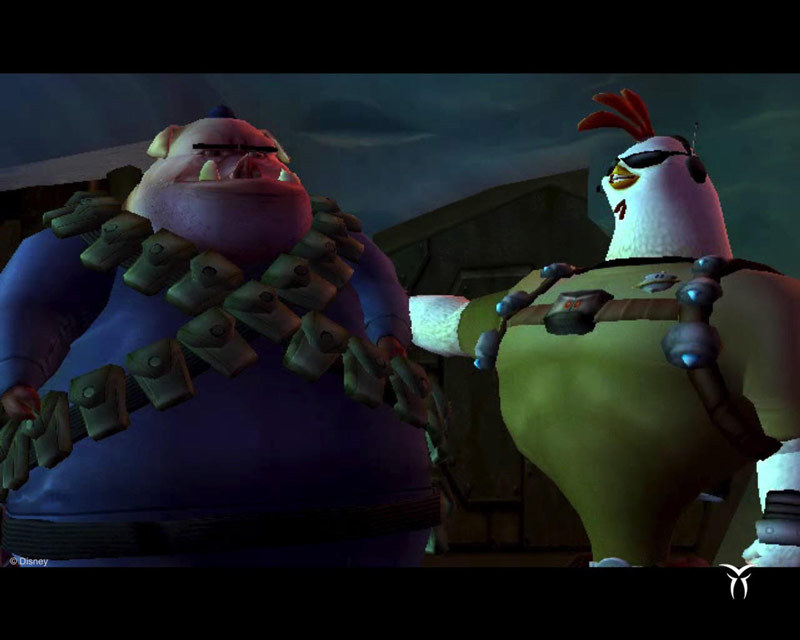 Disney's Chicken Little : Aventures Intergalactiques