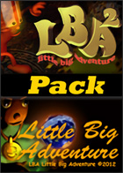 Little Big Adventure - 1 & 2 Pack