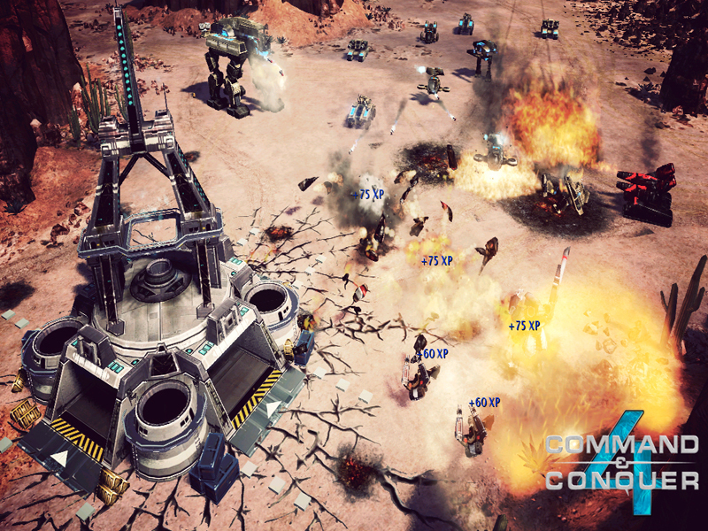 Command &amp; Conquer 4 : Le Crpuscule du Tiberium - Screenshot 1