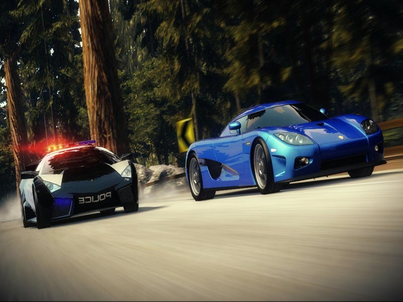 Need for Speed Hot pursuit - Screenshot 1