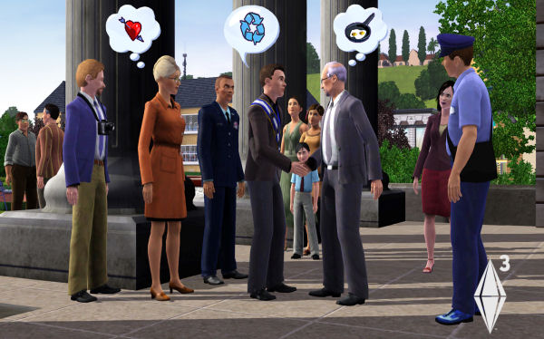Les Sims 3 - Screenshot 1