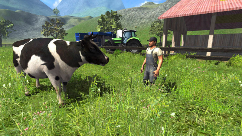 Farming Simulator 2011 - Screenshot 1