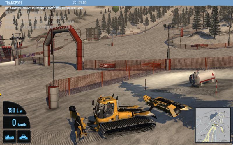 Snowcat Simulator 2011