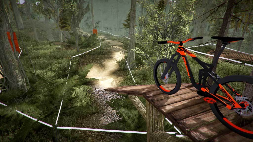 MTB Downhill Simulator