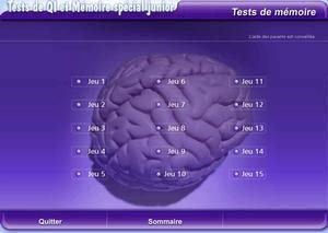 Tests de QI et Mémoire spécial Junior