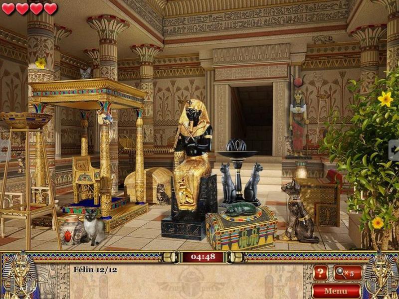 Enigmes et Objets Cachés : Le secret du pharaon