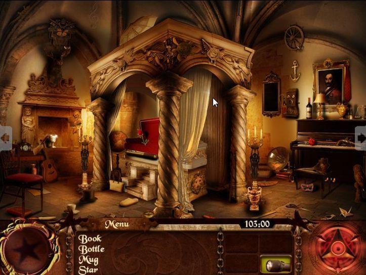 Enigmes et Objets Cachés : The Dracula Files