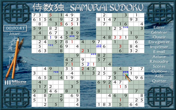 Sudoku Samouraï