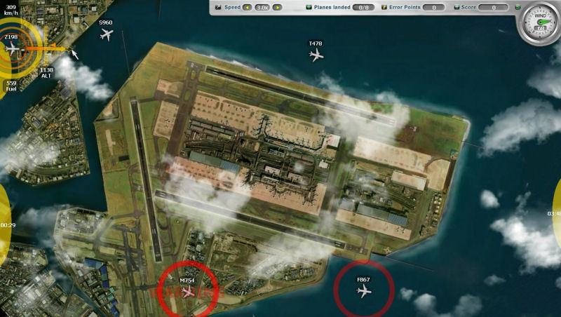 Airport Control Simulator