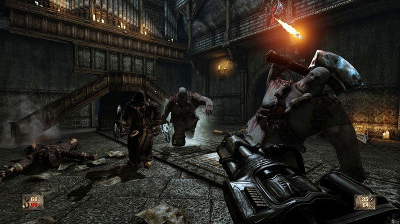 Painkiller Hell & Damnation Operation - Zombie Bunker (DLC)