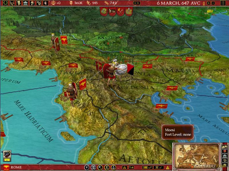 Europa Universalis: Rome - Gold Edition